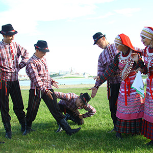 "The ""Bermyancheck"" Kryashen State Folk Ensemble received a grant from the President of Tatarstan"
